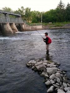 Speed River Below Wellington St Dam AA