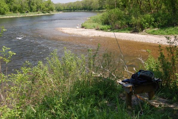 Whiteman's Creek & Grand River Confluence