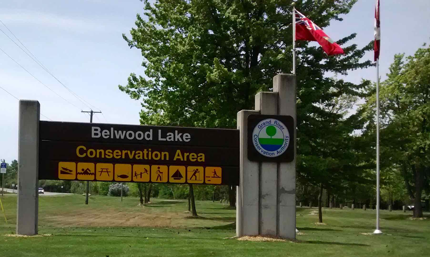Belwood Lake Conservation Area Gate BB