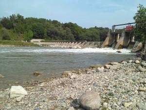 Saugeen River Dennys Dam 090915 AA