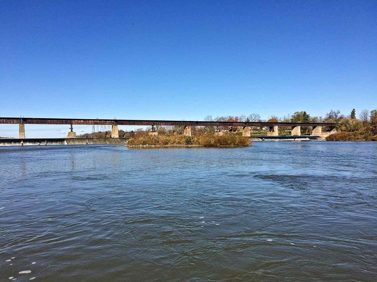The Lower Grand River Below Caledonia Dam HH