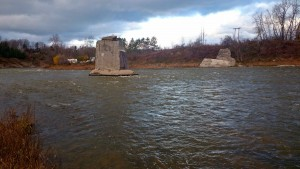 The Saugeen River Abutments A