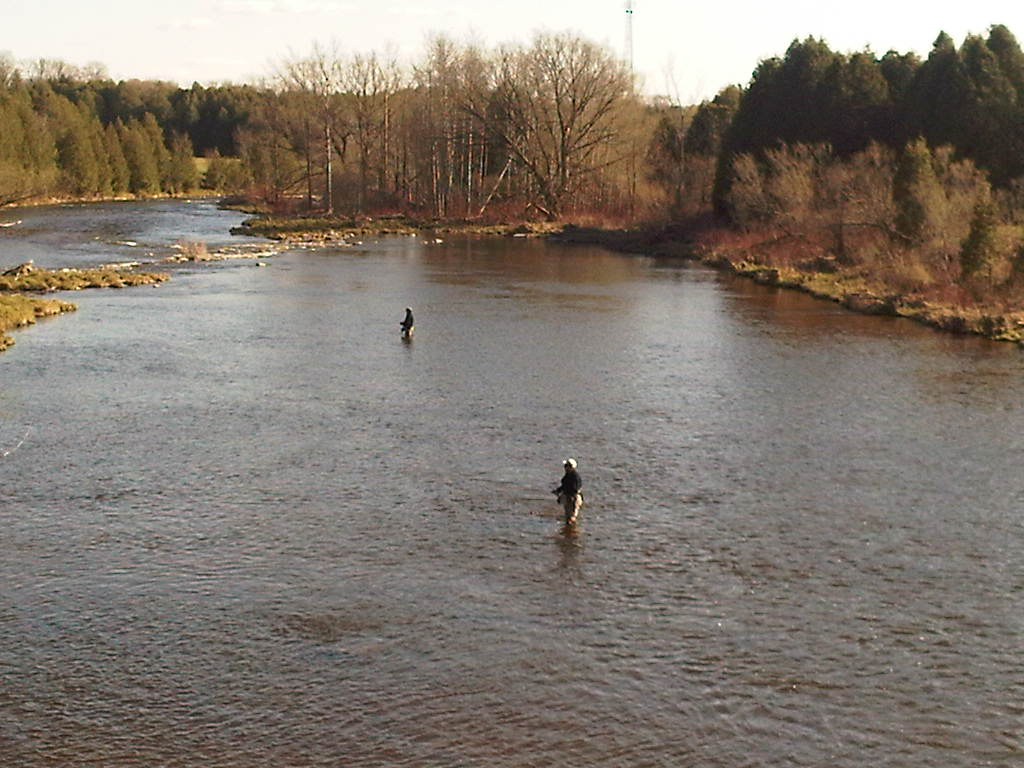Upper Grand River at the Second Line
