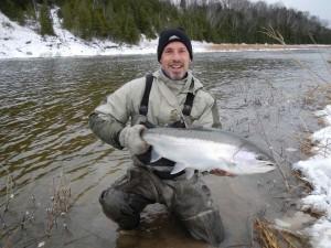 Winter Saugeen River Steelhead First Island AA