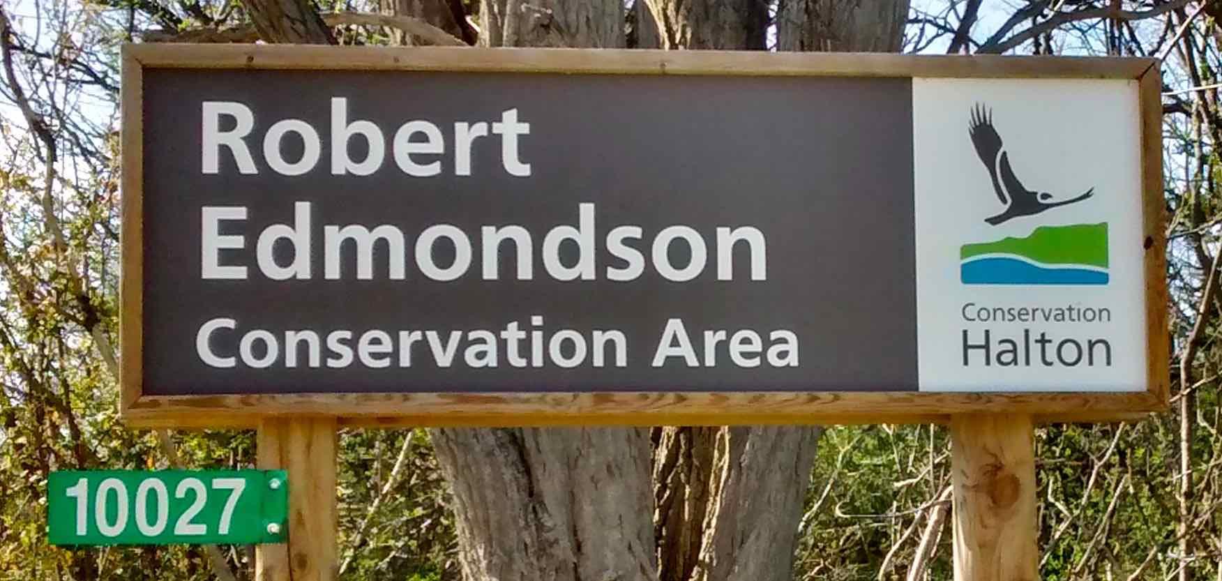 Robert Edmondson Conservation Area Sign AA