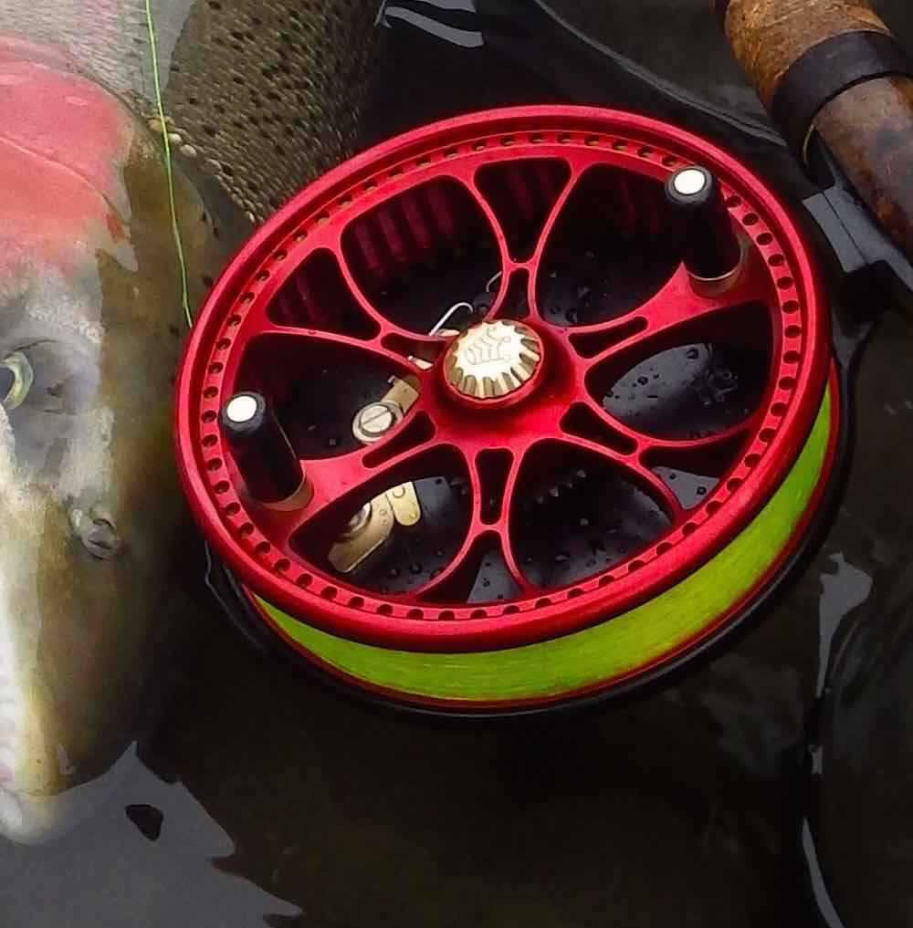 HLS Hi-Vis Float Line Kingpin Zeppelin Float Reel Steelhead AA