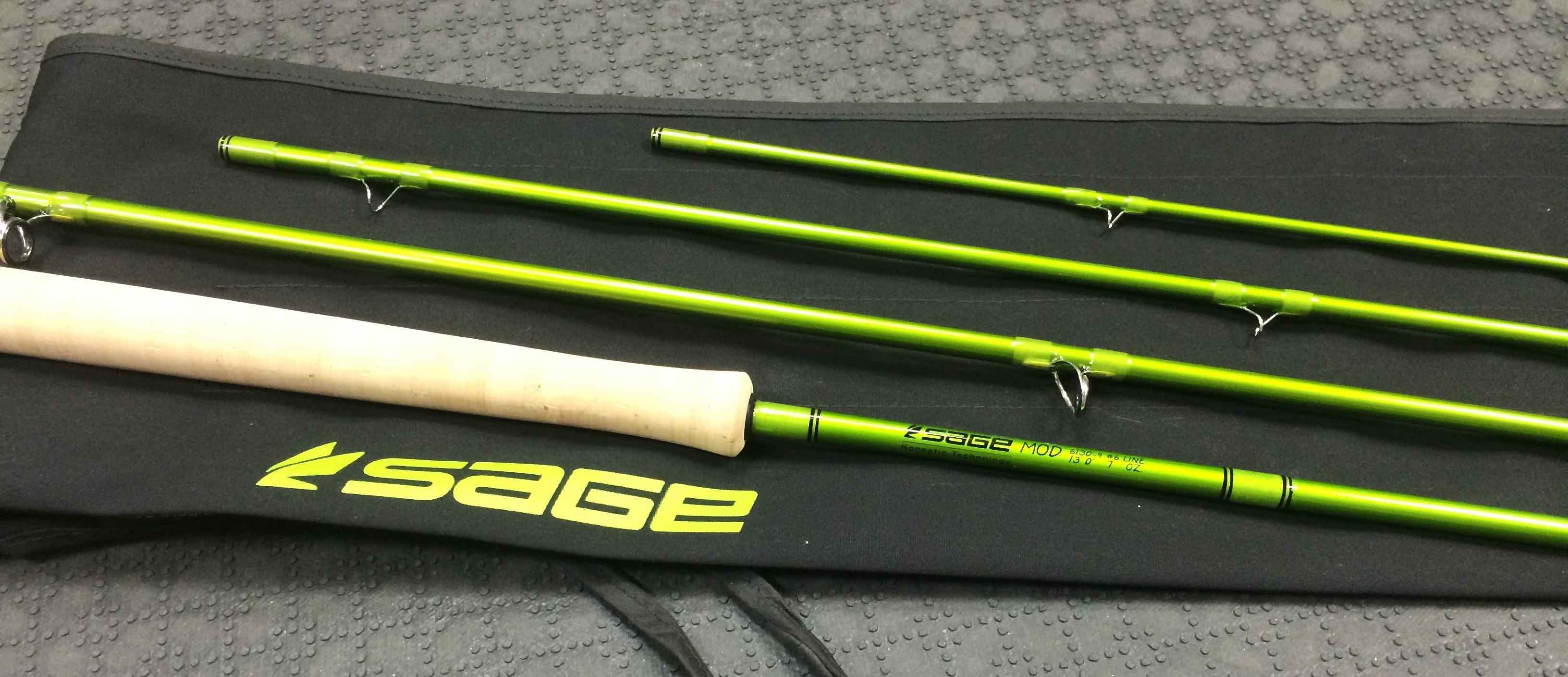 Sage Mod 2015 Spey Rod 6130 4 AA