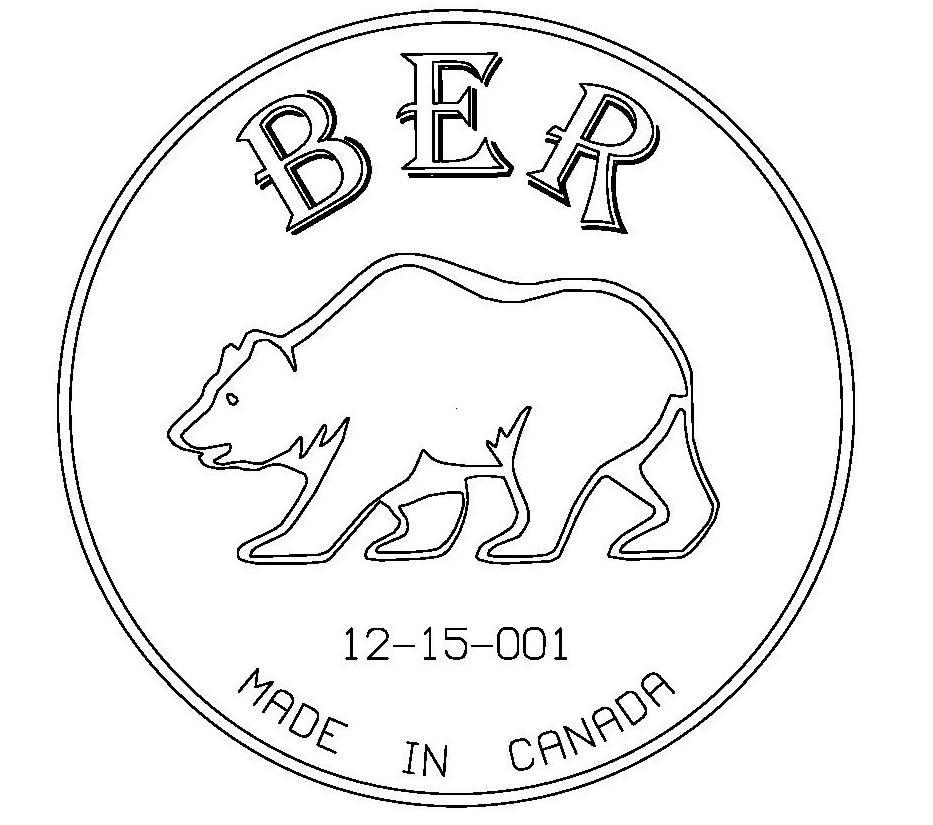 Ber Centerpin Float reels-logo B