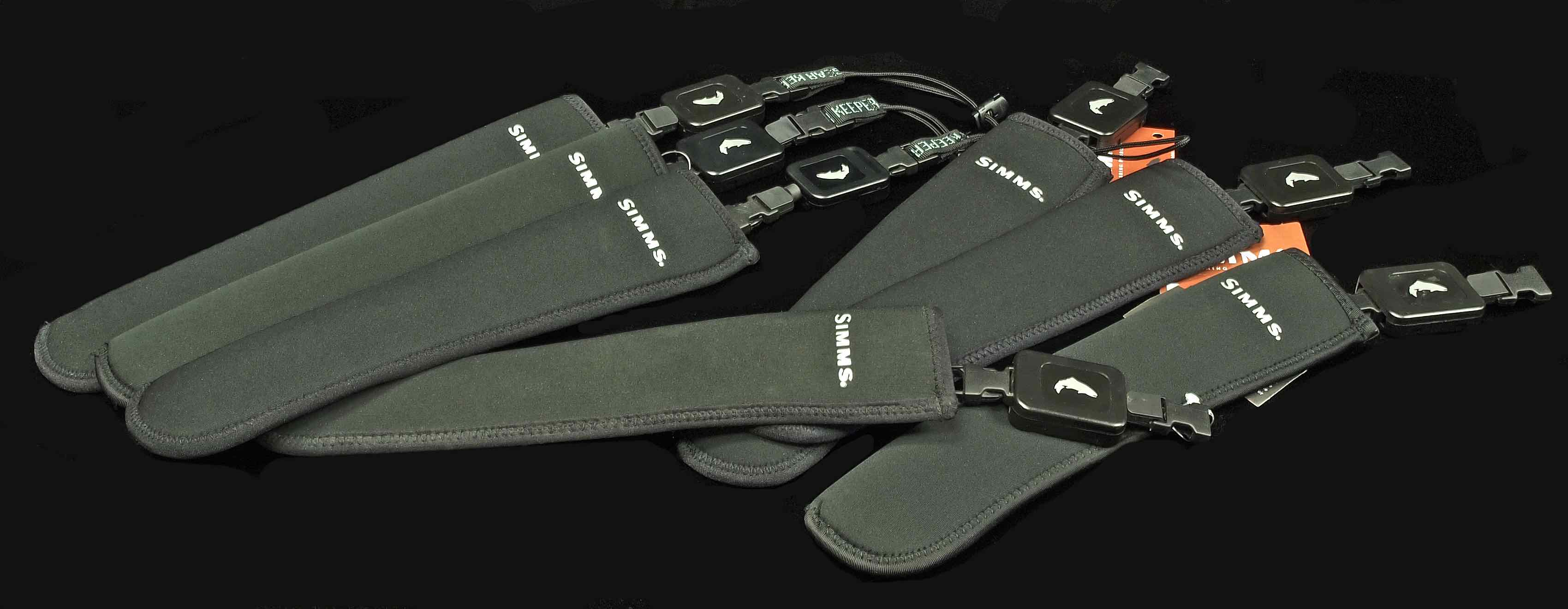 Simms Replacement Neoprene Wading Staff Pouch and Retractor