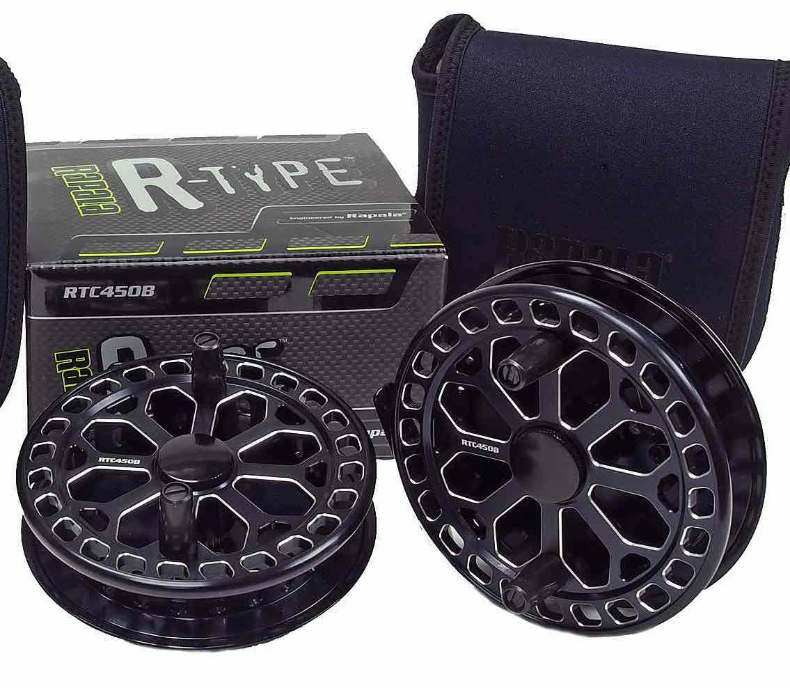 Rapala R Type Centerpin Float Reel RTC450B AA