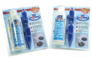 Ice Stopper Non-Toxic Fishing Line DeIcer Solution.