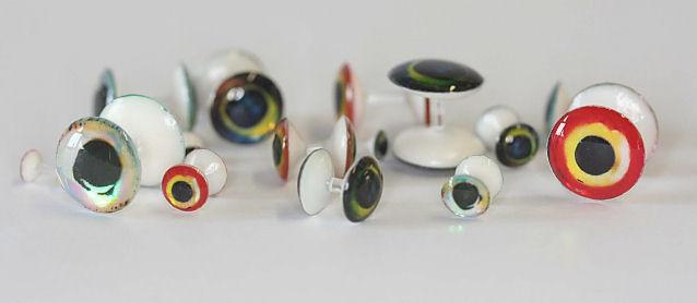 Fishient Lightweight 3D Plastic Rainbow Dumbbells B