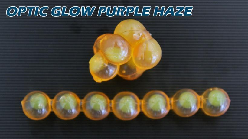 Lick Em Lures Candy Chain Optic Glow Purple Haze