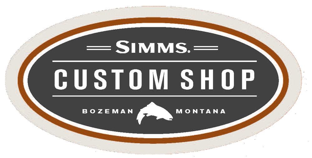 Simms Custom Breathable Wader options
