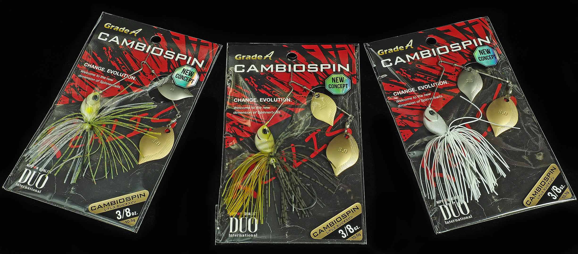 Duo Realis Cambio Spin Assortment.