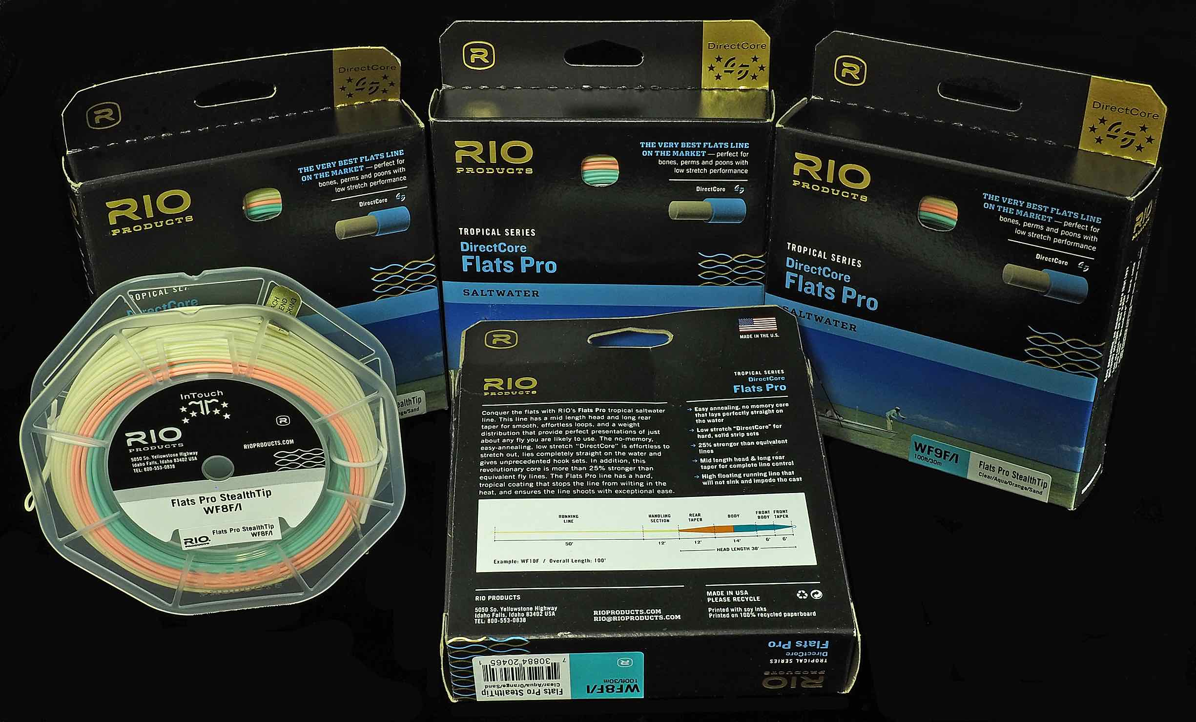 RIO Direct Core Flats Pro Fly Line.