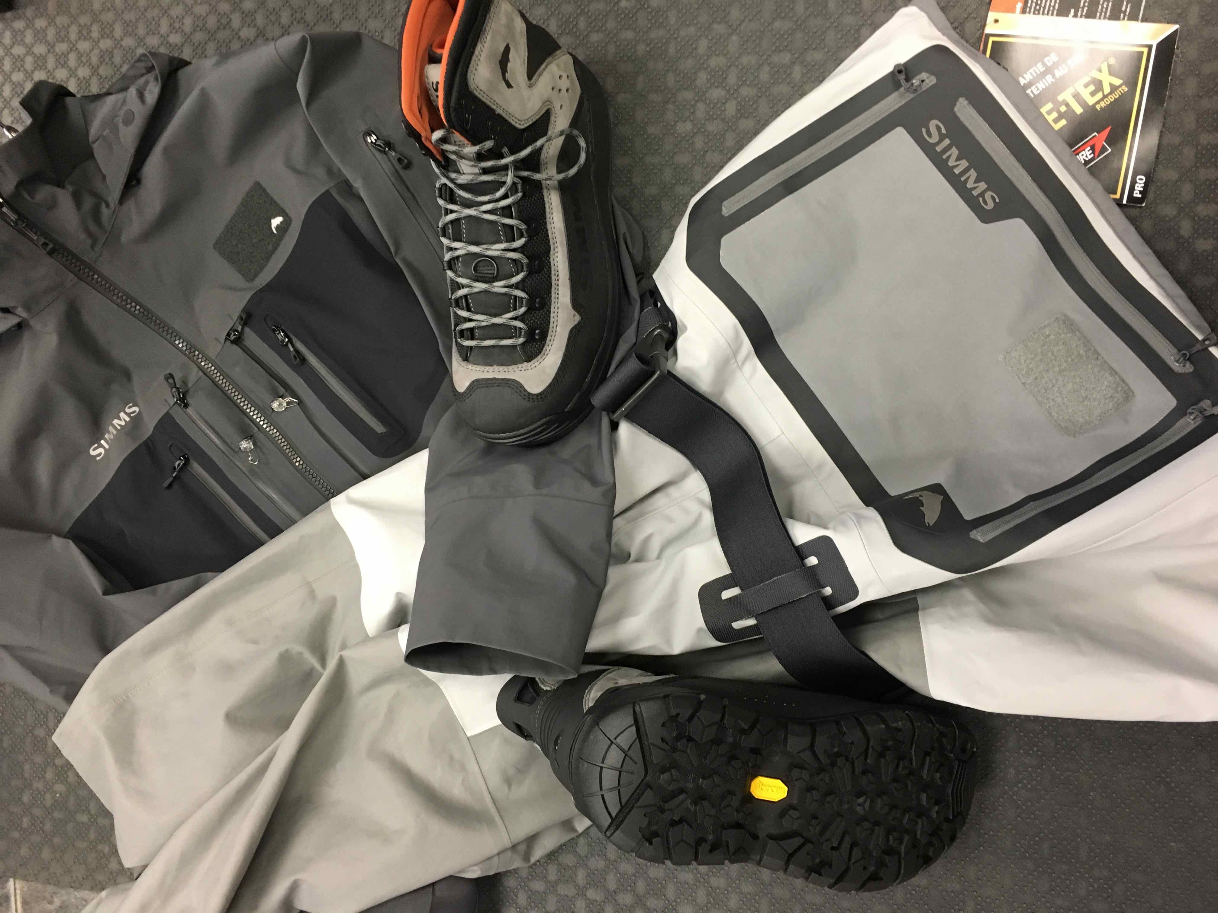 Simms 2018 G3 Series: Simms G3 Waders, Simms G3 Jacket& Simms G3 Wading Boots! Scheduled Release ofNovember 15th, 2017.