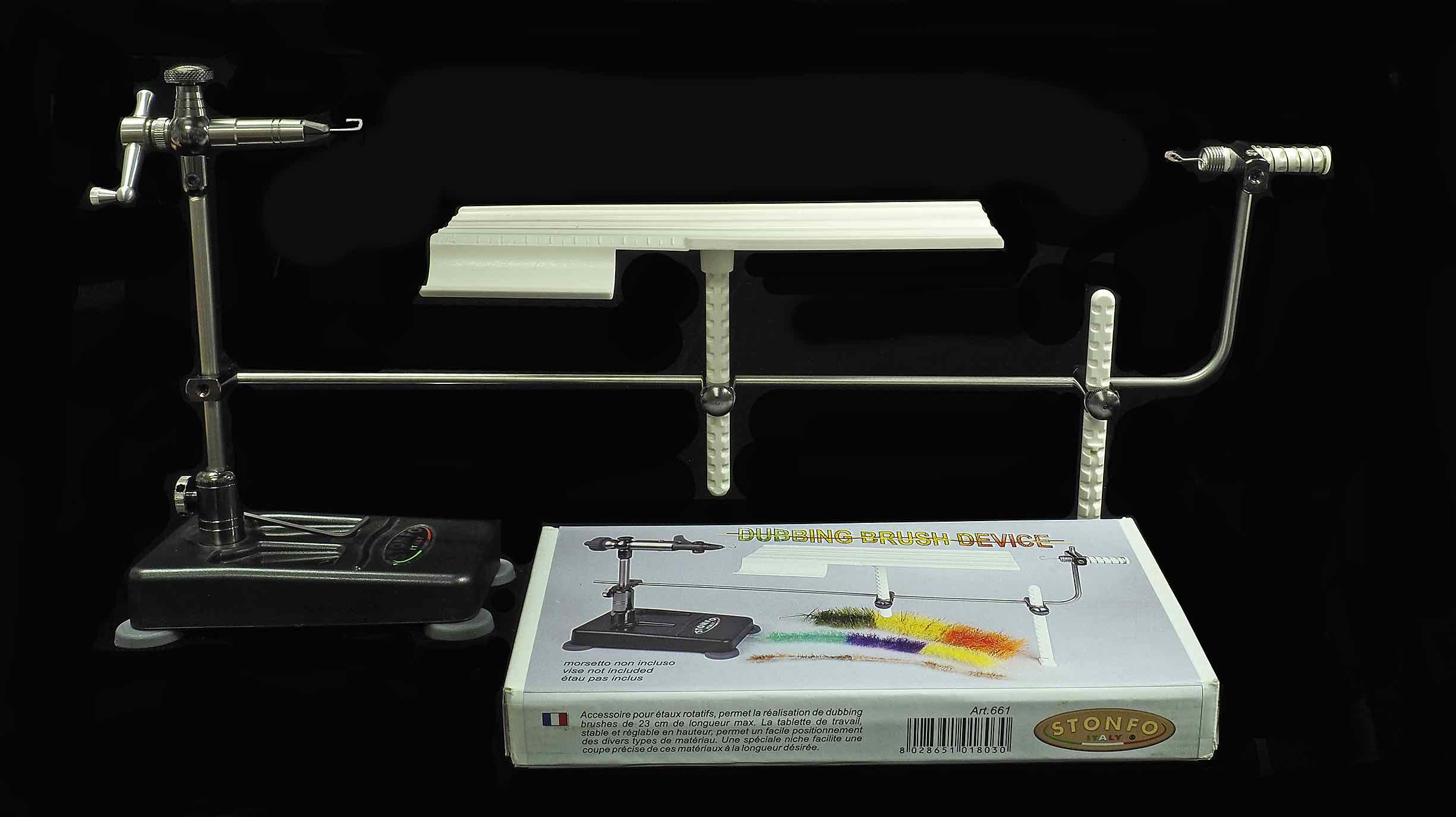 Stonfo Dubbing Brush Device.