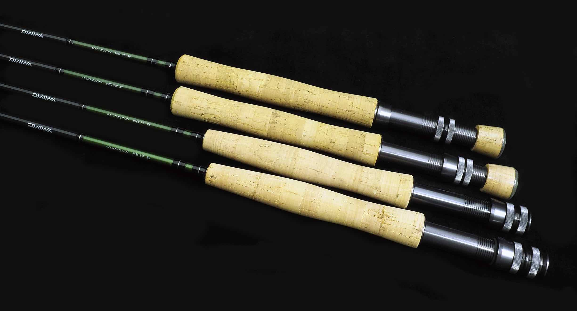 Daiwa Algonquin Fly Rods.