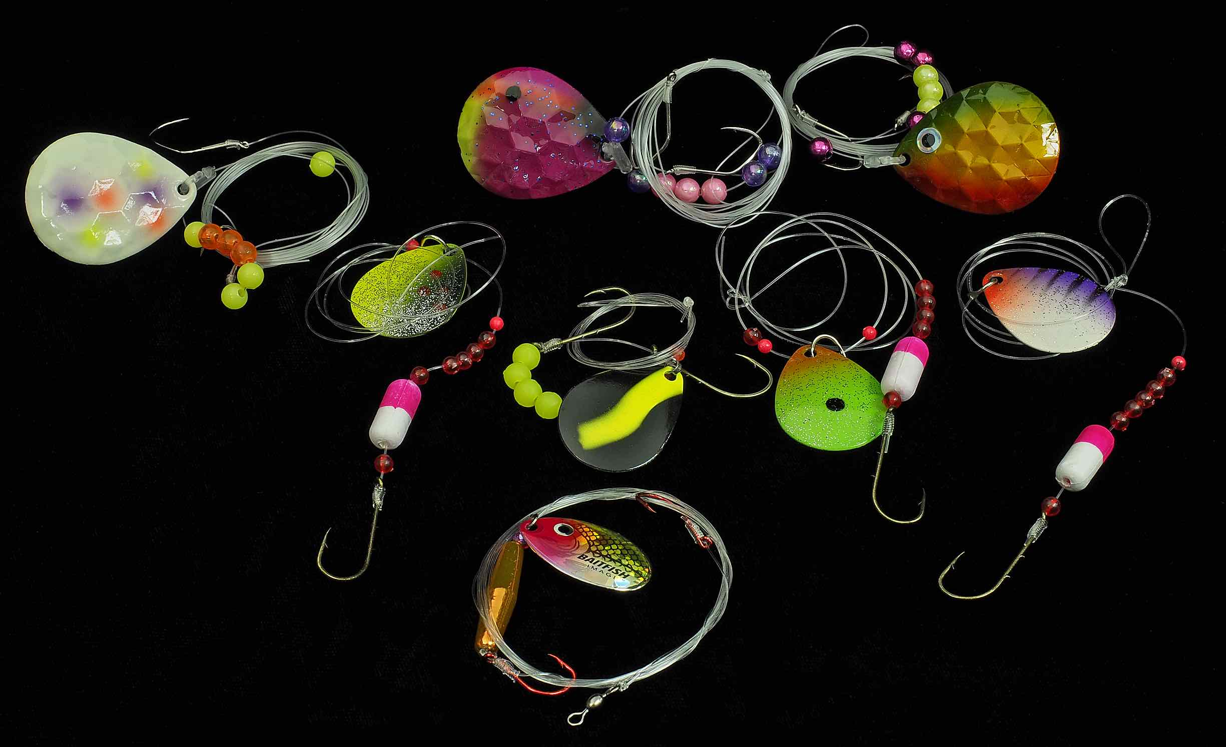Walleye Crawler Worm Harness
