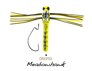 Lunkerhunt Dragonfly Finesse Topwater Lure