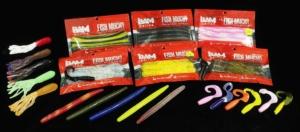 Bam Baits Assortment - Sticks, Tubes, & Grubs.