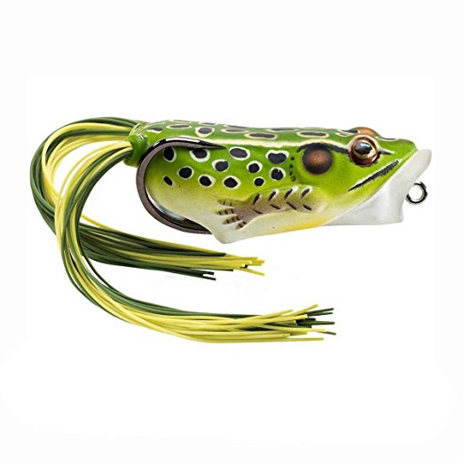 LIVETARGET Hollow Body Popper Frog