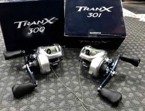 Shimano Tranx 300 and 301 BBB