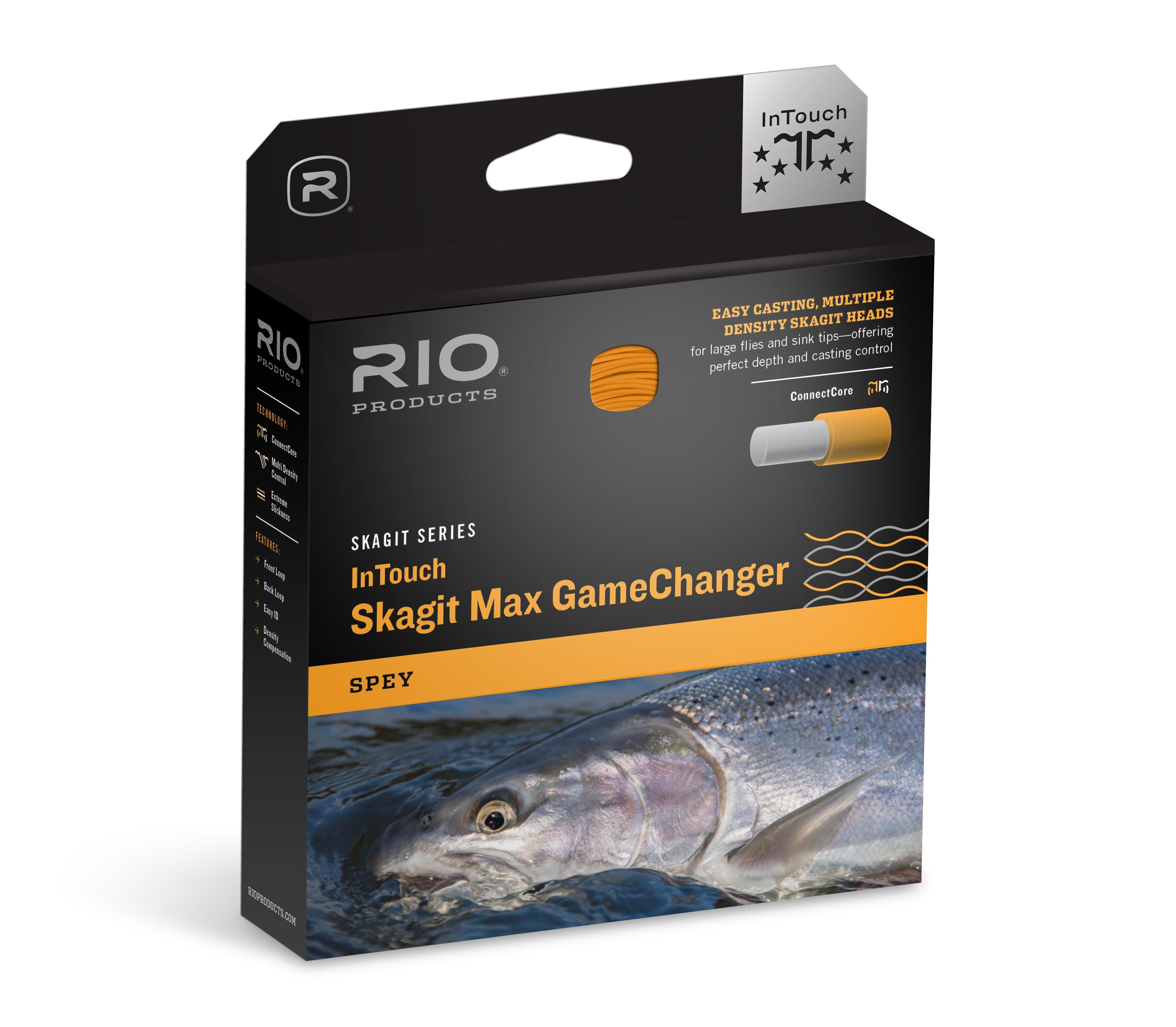 RIO InTouch Skagit Max GameChanger Multi-Density Control Spey Shooting Head