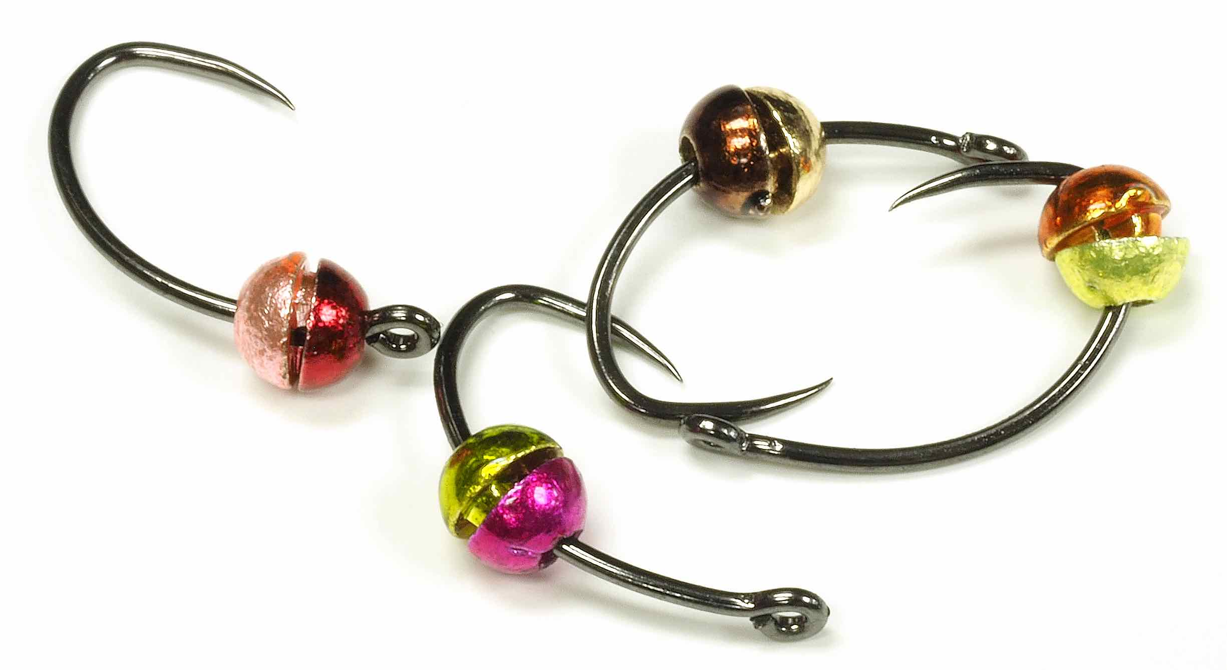 Pro Tyer 2 Tone Tungsten Half Beads - The Canadian Llama Company