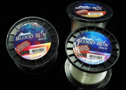 "Blood Run's Round-Shaped 30lb ""Super Slick"" Sea Flee Line"