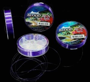 Blood Run Tackle Floating 10lb & 15lb PURPLE Mono Centerpin Mainline