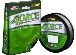 Tuf-line 4orce Premium 4-Carrier Braided Line