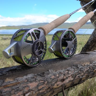 The Waterworks Lamson Centre Axis Rod & Reel