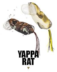 Lunkerhunt Weedless Cupped Faced Yappa Rat