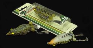 Lucky Craft's Teckel Brand Honker Frog Assortment.