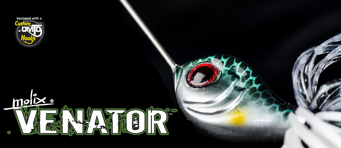 The Molix Venator Spinnerbait.
