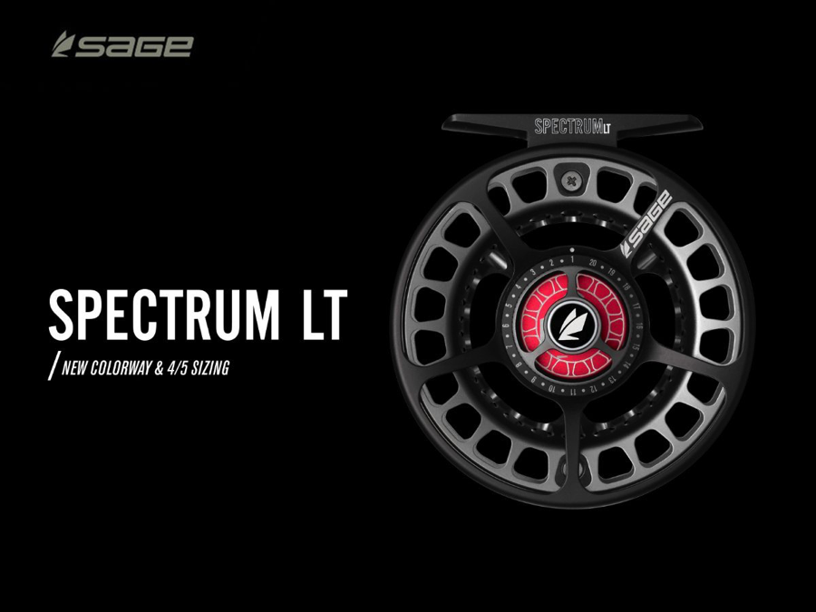 Newest Addition to the Sage SPECTRUM LT Fly Reel Family for 2019A