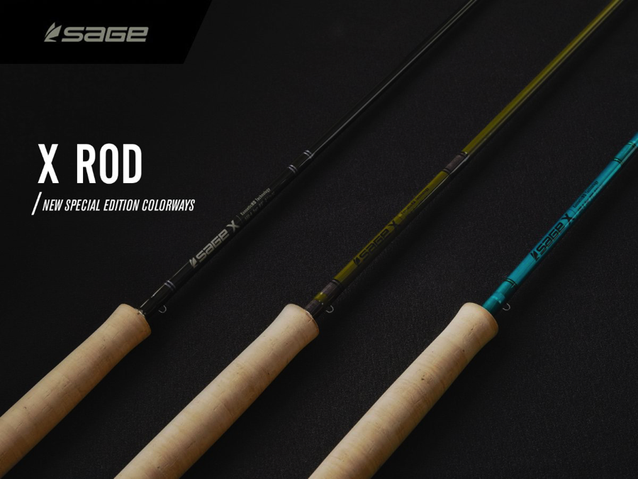 New Special Edition Colour-ways for The Sage X Rod Family A