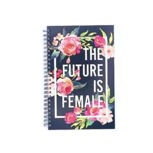 The-Future-Is-Female-Spiral-Notebook