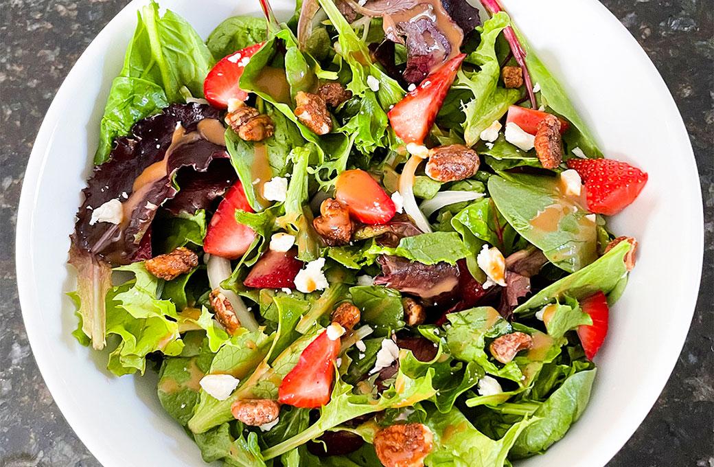 summer-strawberry-salad
