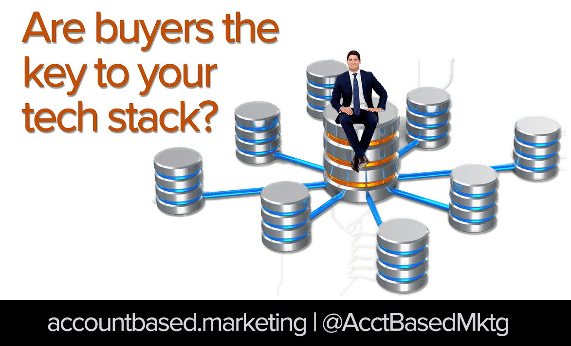 Are buyers the key to your ABM tech stack?