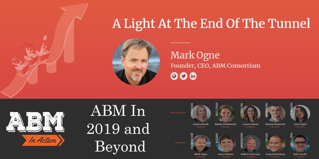 2019 Prognostication – Account Based Marketing