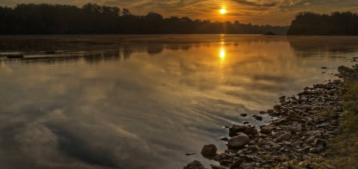 Delaware River Sunrise