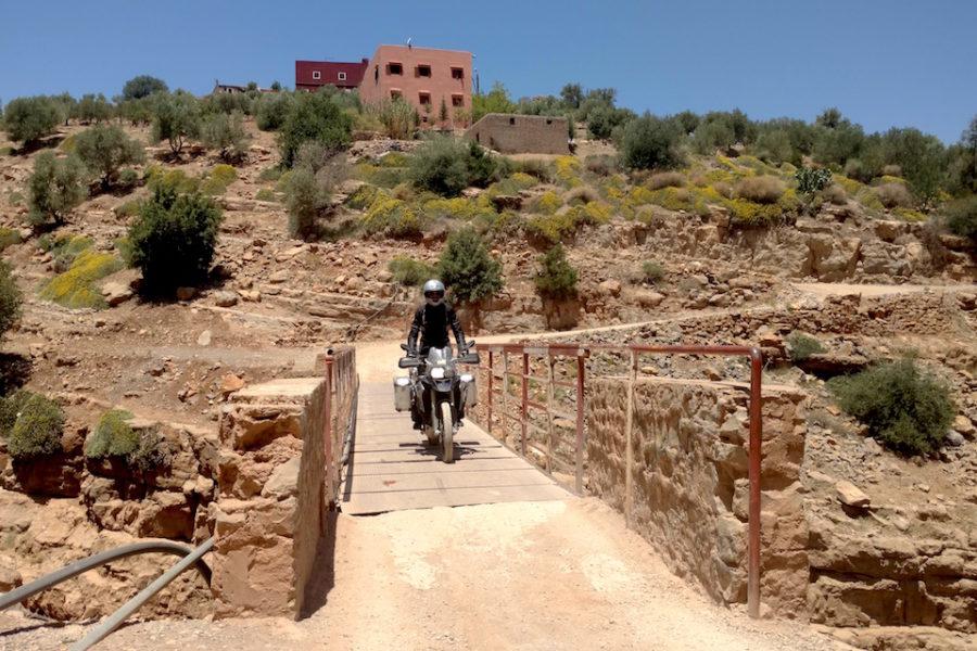 Atlas and Desert Tour Morocco - river crossing