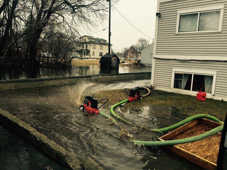 Flood damage restoration services in Lake Placid NY