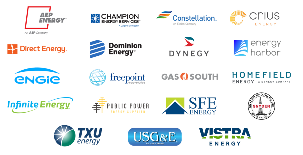List of energy supply companies for gold star energy