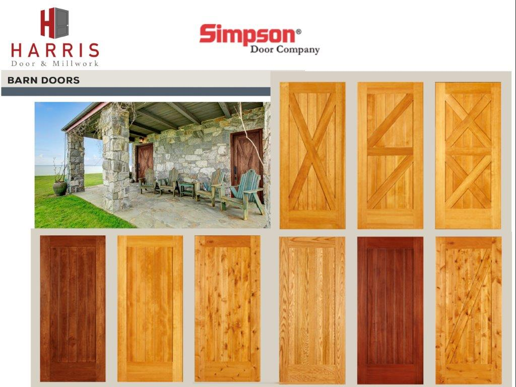 Simpson Barn Doors
