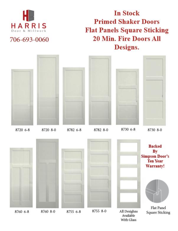 shaker doors 1
