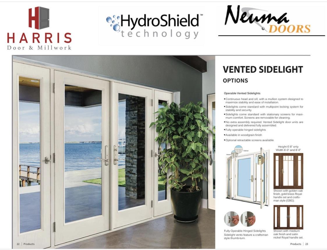 Neuma Vented Sidelight Options